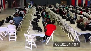 The Ahmadiyya Muslim Youth sets the World Record!