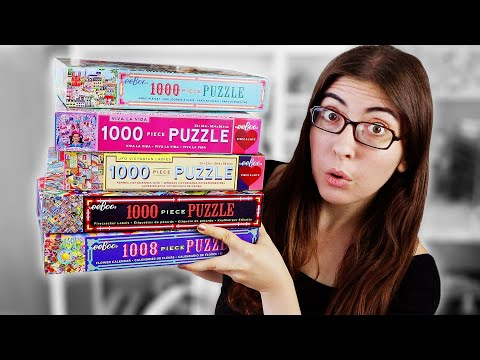 HUGE New Jigsaw Puzzle Haul