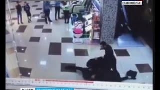 В Пятигорске напали на охранника торгового центра