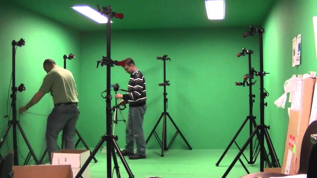 Motion Capture Setup Timelapse A Twelve Camera Optitrack