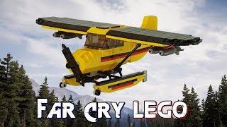 Lego Far Cry 5 Nick Rye's Seaplane