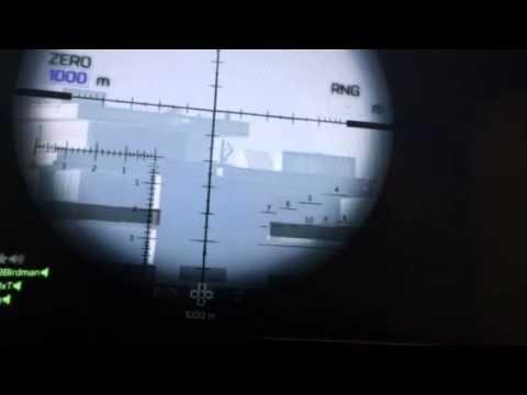 Battlefield 4 Hainan Resort Ps3 Long Headshots 1000 Meters