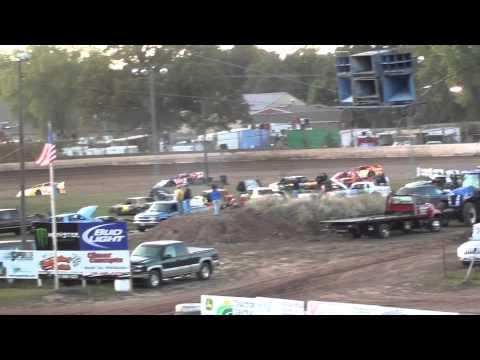 Cory Mahder - Sept 24th, 2011 - 8th Place - Heat - Punky Manor - Red Cedar Speedway