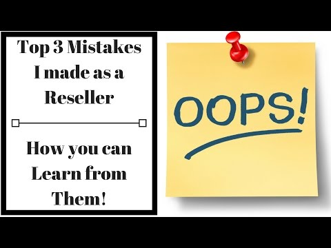 My Top 3 Mistakes as a Reseller & What I've Learned from Them - LIVE - Q&A