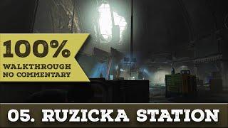 Deus Ex: Mankind Divided Walkthrough (Pacifist,All Collectibles) part 5 RUZICKA STATION