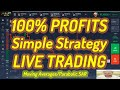 100% profitable Moving Average Trading Strategy - Online Trading Strategy