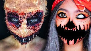 TOP 15 DIY Halloween Makeup Tutorial IDEAS + Costumes 2018