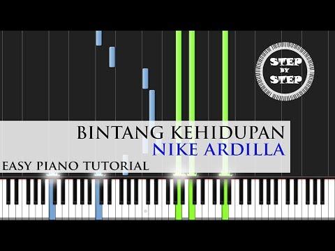 Bintang Kehidupan - Nike Ardilla - Easy PianoTutorial