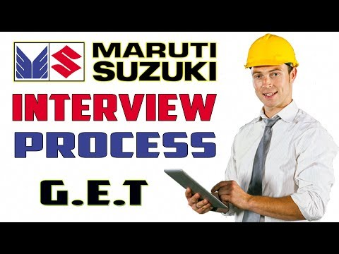 Maruti suzuki interview process