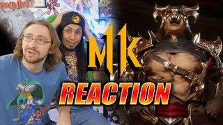 DOODS REACT: Shao Kahn & Switch Story Trailer - MK11