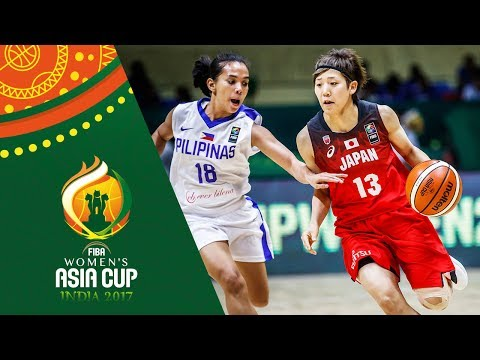 HIGHLIGHTS: Perlas Pilipinas vs. Japan (VIDEO) FIBA Women's Asia Cup 2017