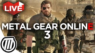 PS4 Metal Gear Online 3: Gameplay Live Stream 1080p (Phantom Pain Multiplayer)
