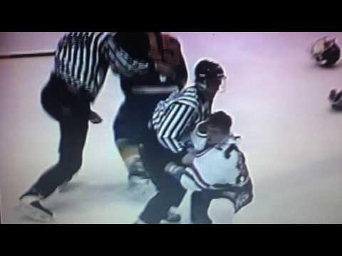 QMJHL Dave Whittom vs Frederic Boivin Season 1992-1993
