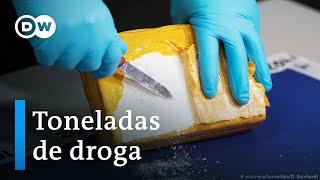 De Paraguay vino el cargamento más grande de cocaína jamás encontrado en Europa