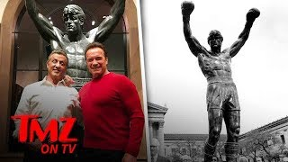 Sylvester Stallone Drops $400k On 'Rocky' Statue | TMZ TV