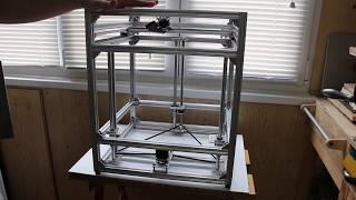 3D принтер своими руками.  Механика