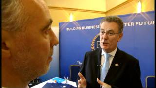 Mike Nesbitt discusses the economy with the Federation of Small Businesses