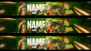 [FREE] FORTNITE YOUTUBE BANNER REX SKIN TRICERA OPS SKIN BANNER DOWNLOAD TEMPLATE