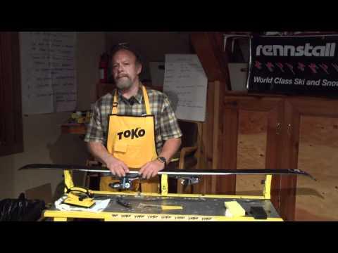Toko Serviceman Willi Wiltz Presents Ski Waxing For Racing