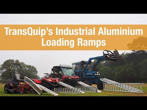 TransQuip's Industrial Aluminium Loading Ramps