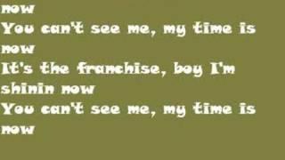 John Cena karaoke (My time is now)