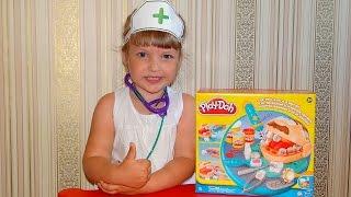"""Плей До пластилин, """"Мистер Зубастик"""".Игра для детей Play Doh.Развивающая игра.Лучшее детям"""