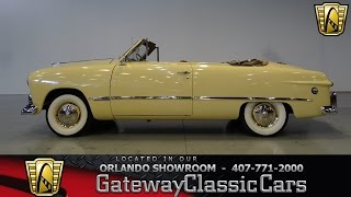 1949 Ford Custom Convertible Gateway Classic Cars Orlando #492