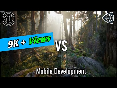 Unity Vs Unreal Engine Mobile Development | Best Engine For Android Game ? 2020 | #CreativeLearning