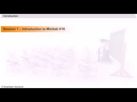 learn minitab online minitab online tutorial minitab