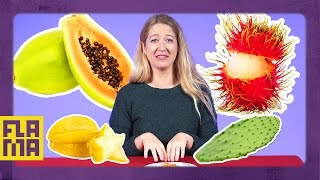Americans Try Latin Fruits