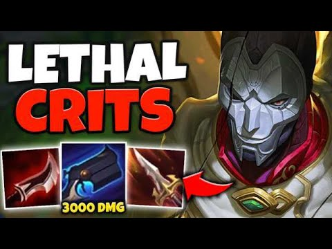 WTF!? 4TH SHOT CRITS FOR HOW MUCH DAMAGE?! LETHALITY JHIN ONE SHOTS EVERYONE - League Of Legends