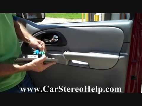 How to Chevrolet Trailblazer Bose Front Speaker Removal ...