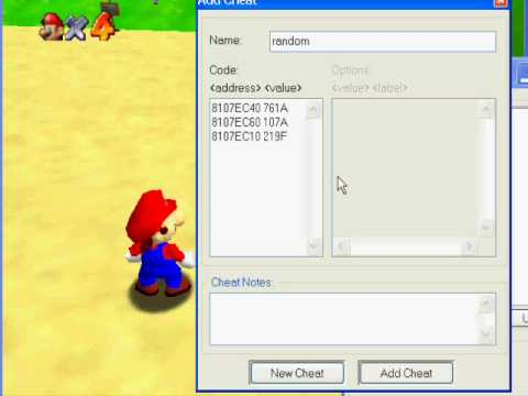 How to make your own color codes in SM64