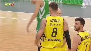 BARMER 2. Basketball Bundesliga Tigers Tübingen vs. Baunach Young Pikes