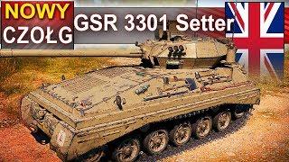GSR 3301 Setter - najnowszy wyspiarz na stepie :) World of Tanks