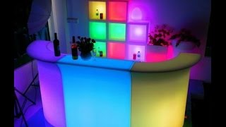 Polydeco Bar Sl-lbc8301,led Bar Counter,illuminated Bar Corner Section