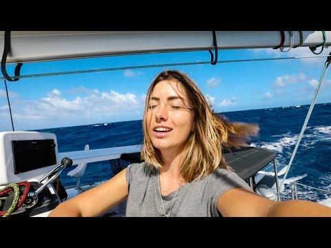 Is that LAND I smell on the horizon? (Sailing La Vagabonde) Ep. 138