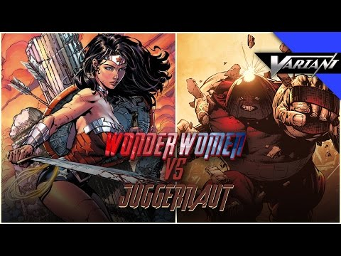 Wonder Woman VS Juggernaut: Epic Battle!