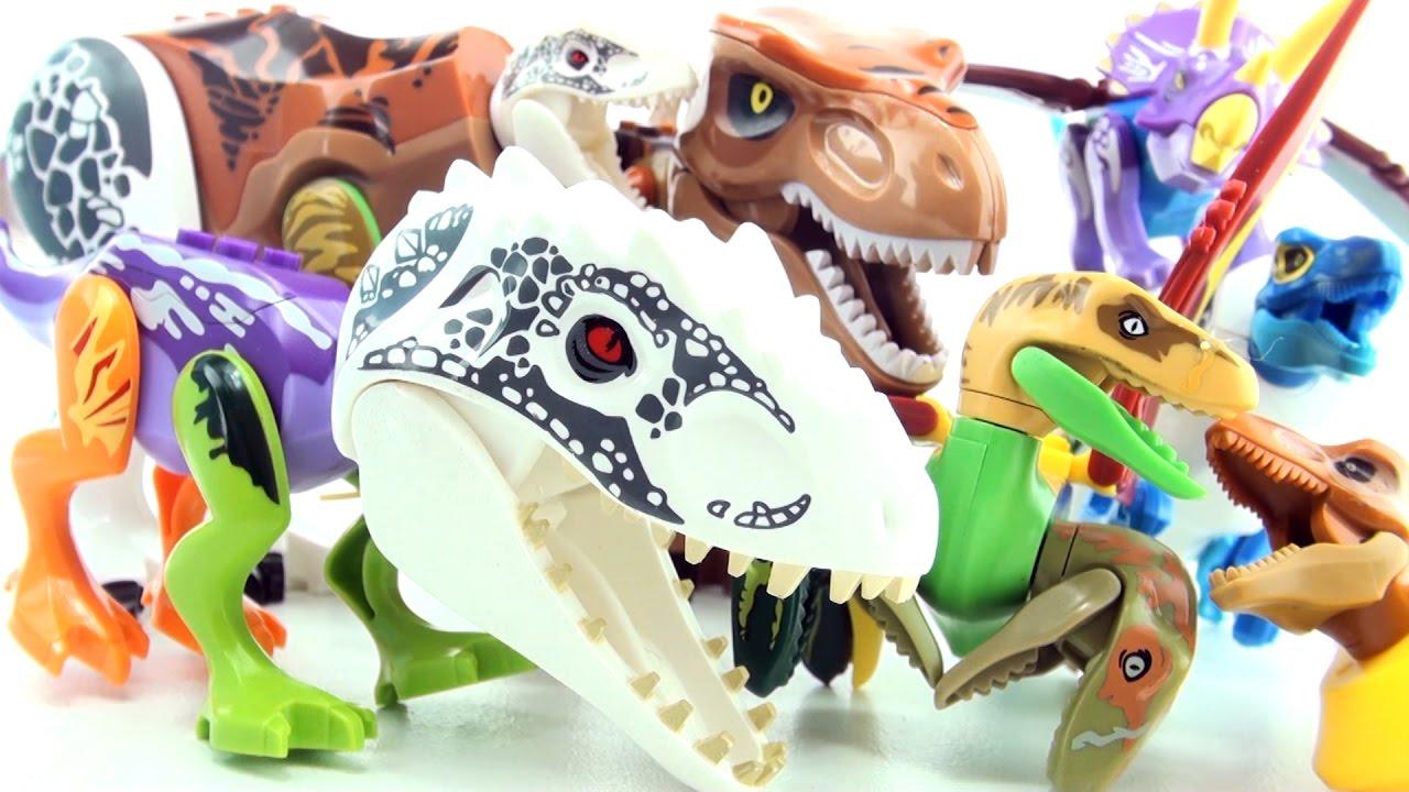 Lego Jurassic World Mutant Dinosaurs Hybrid Dinosaur