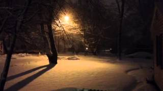 Snow in Muncie Indiana