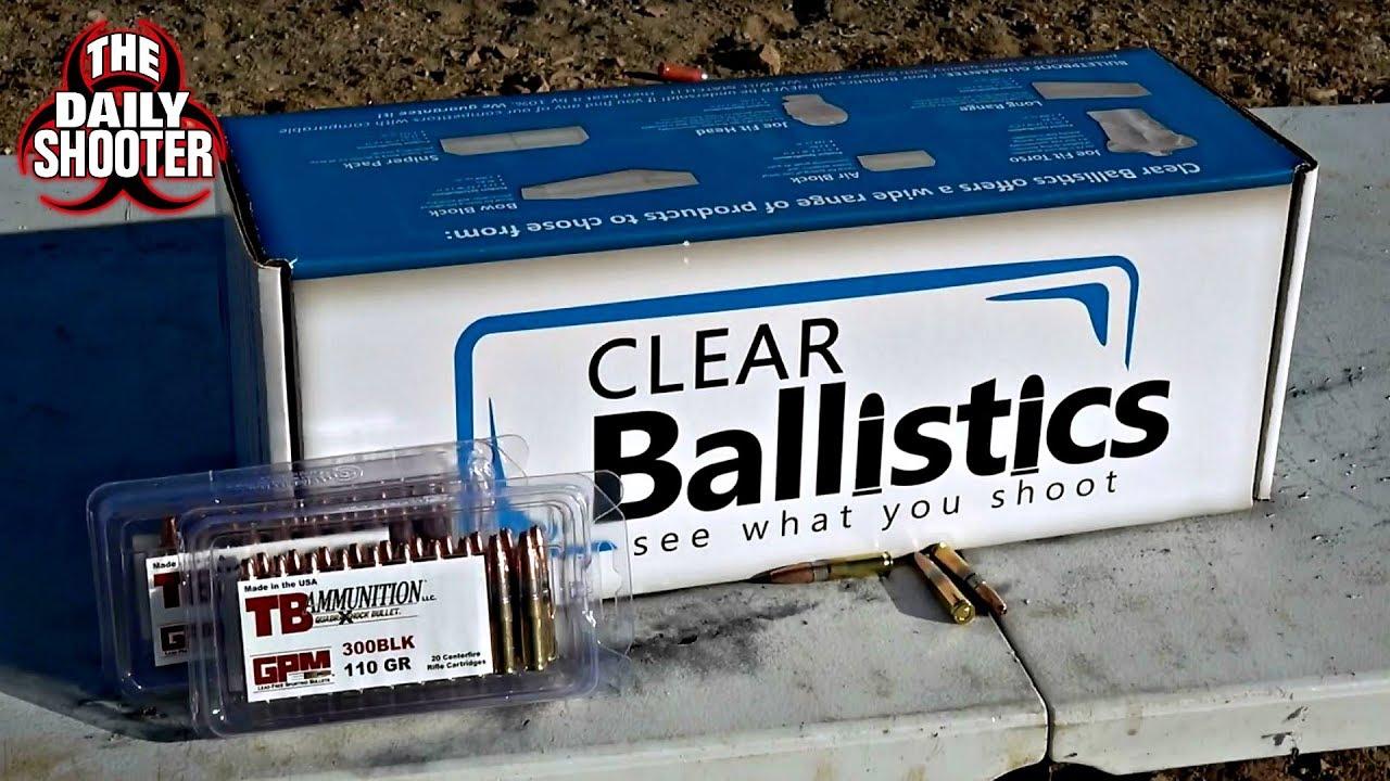 tb ammunition 110gr 300 blackout ballistics gel test youtube. Black Bedroom Furniture Sets. Home Design Ideas