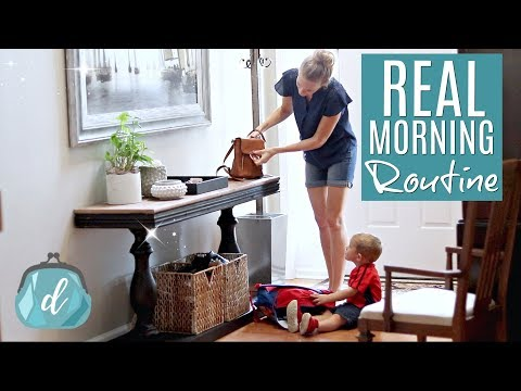 HONEST MORNING ROUTINE 💙 5 Real Ways I Stay Organized