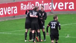 SV 01 Viktoria Aschaffenburg -  FC Augsburg II (Regionalliga Bayern 15/16, 20. Spieltag)