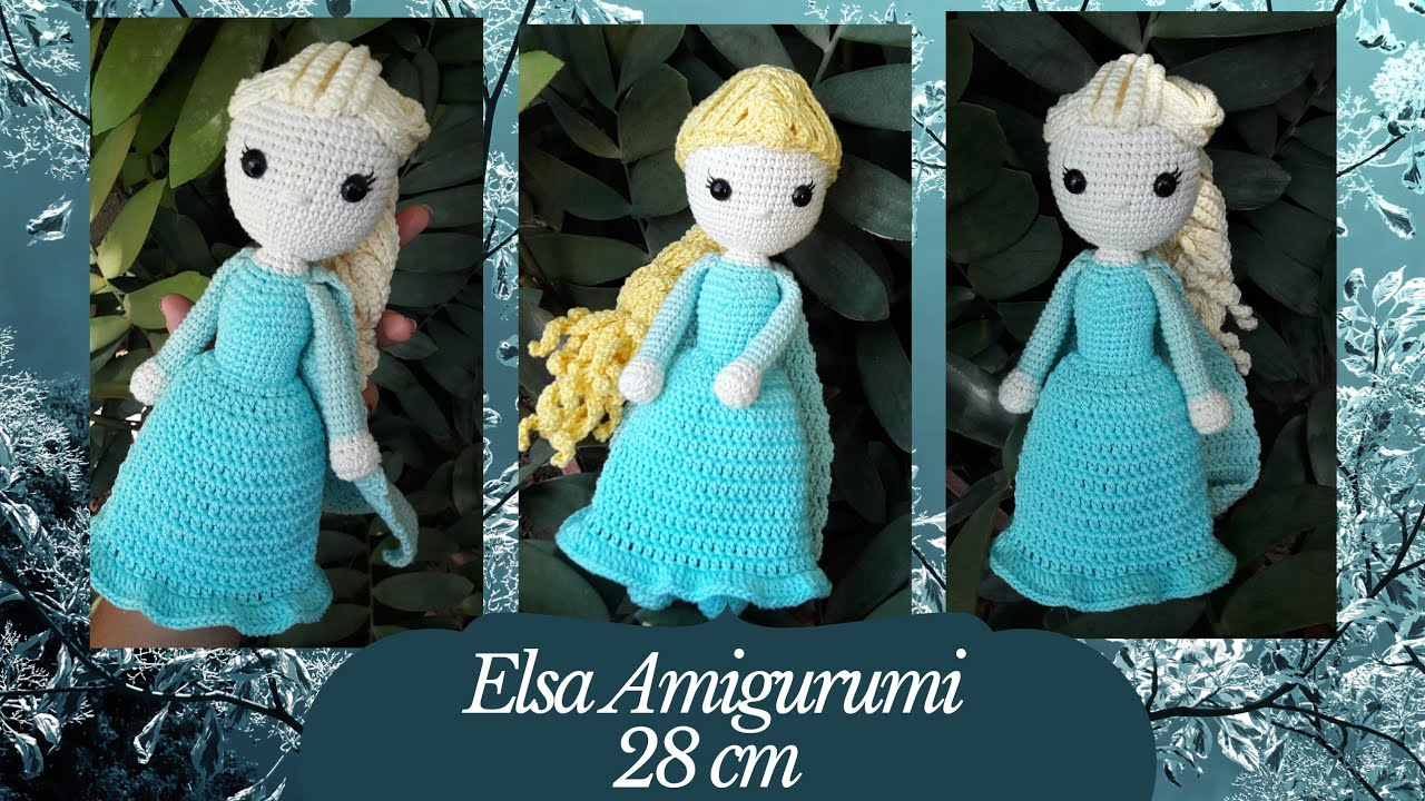 Movie Character Doll Free Crochet Patterns | 720x1280