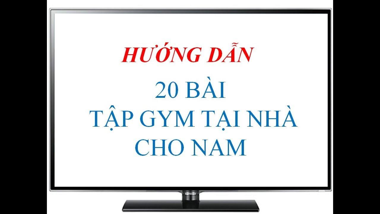 Bài 2 – Dumbbell Bench Press – Đẩy tạ tay trên ghế – 20 bài tập gym tại nhà cho nam