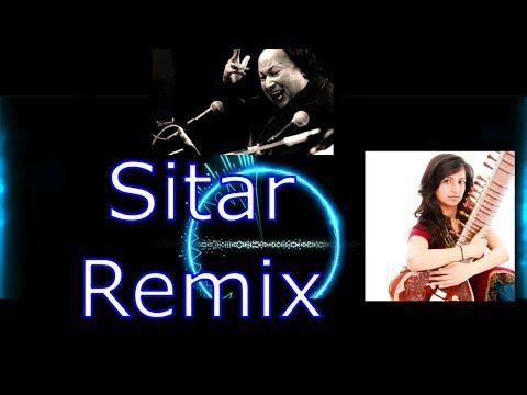 Mere Rashke Qamar Remix Nfak - Typical Musician Sitar Cover