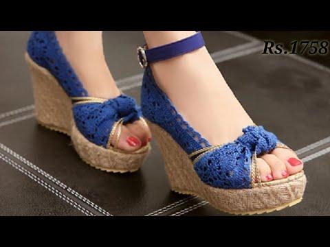 Footwears For Get-Togethers | Sandals Shoes Slippers High Heels Block Heels Wedges Heels