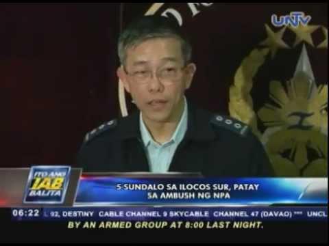 5 sundalo sa Ilocos Sur, patay sa ambush ng NPA