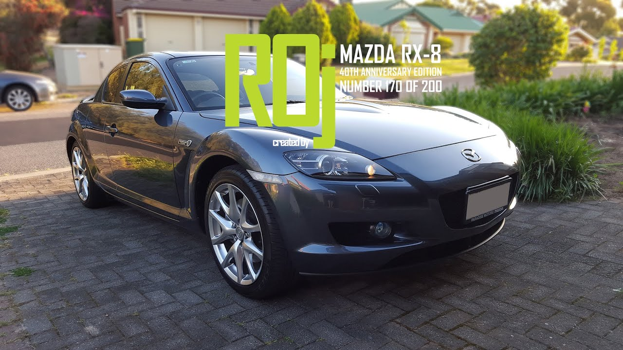 Mazda rx 8 40th anniversary edition