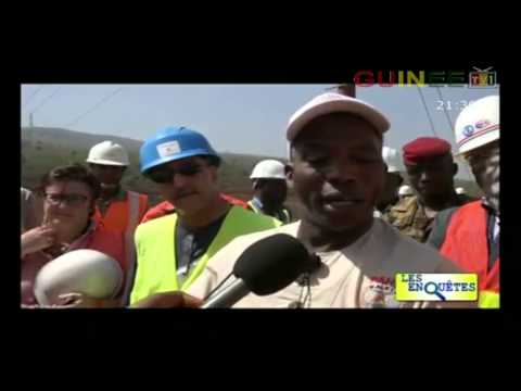 Guinee Conakry - Reportage sur le barrage Kaleta. Realise pa